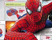 Dupla de Jornal Produtos Spiderman