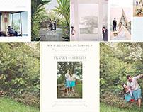 Prewedding Photobook Design of F&S,photo by Little Jump
