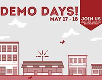 Demo Days Ad Campaign