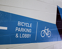 111 North Canal Bicycle Wayfinding