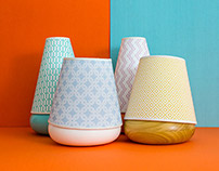 The Macarons / Wood & Pattern Lamp