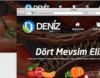 Deniz Gıda Creative Web Design