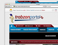 Trabzonportal.com Creative Web Portal Design