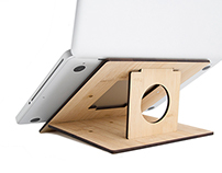 Flio - thin, portable laptop stand