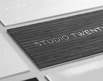 Studio Twenty Two Business Cards