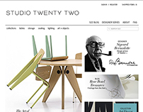Studio Twenty Two Website