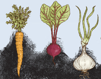 Garden City Harvest Opening Day Poster