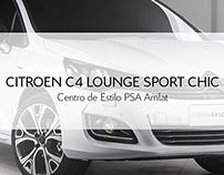 Salão do Automóvel 2014 | C4 LOUNGE SPORT CHIC |