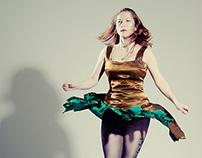 Irish step dancing costumes