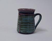 Mug #26 - stoneware: