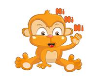 Monkey action