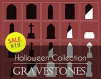 Sale#19: Halloween Collection - Gravestones