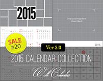 Sale#20: 2015 Calendar Collection - Wall Calendar