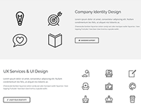 Agency Home Free Template - Supreme Shortcodes