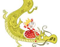 """La reine des dragons"""