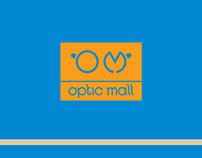 Optic mall - logo for optic store