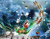 Ecole Saint Charles -  Christmas Market Poster - 2014