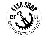 4130shop visual identity