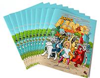 Burg Lino Comic