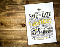 Hand-Drawn: Save the Date