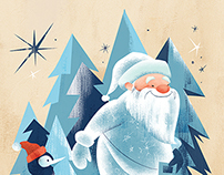 Holiday Card Illustrations