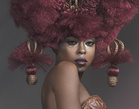 """Tribal Mystique"" - for Hot on Beauty Magazine"
