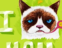 I GRUMPY CAT YOU