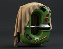 SteamPunk - Typo 3D - WIP