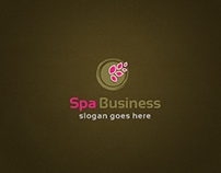 Spa Business Branding Design Template