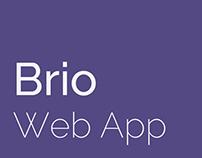Brio Web App - Bootstrap Admin Template + AngularJS