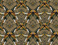 Wallpaper pattern design 25 Edouard Artus ©2014