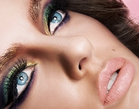 Beauty retouch animation