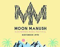 FLYER : MOON MANUSH FESTIVAL