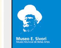 Sistema Señalético - Museo Sivori