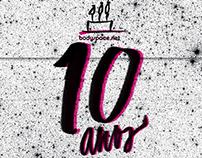 Bodyspace au Lait 2012   posters