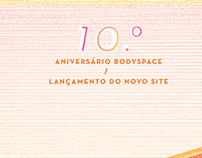 Bodyspace - 10th anniversary party   posters