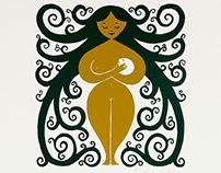 Maternidad / Serigrafía  -  Maternity / Silkscreen
