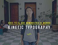 Administración (Kinetic typography)