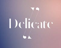 Delicate free typeface