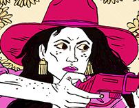 """Little White Lies Magazine - """"Bad Girls"""""""