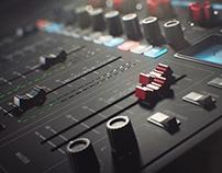 Audio mixer ITREL 408