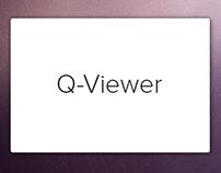 Q-Viewer - Desktop Application GUI