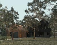 House in Paledzie, Poland