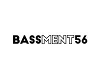 Brand Identity - BASSMENT56