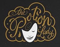 'The Potion Lady' brand identity
