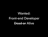 Front-end Developer Wanted