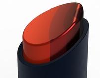 Lipstick with bias keeping