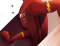 The King VS Flash