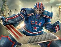 Best of Hockey Club SKA posters. Season 2013/14