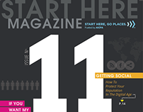 Start Here. Go Places. Magazine #11 w/ pull out Poster